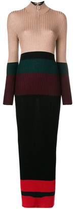 Marni turtleneck maxi dress