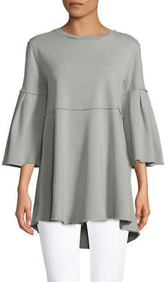 Calvin Klein Bell-Sleeve High-Low Tunic