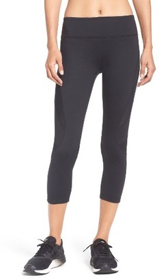 Women's Zella Power Splice Crop Leggings $59 thestylecure.com