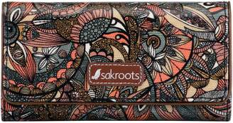 The Sak Sakroots Print Megan Snap Tri-fold Wallet