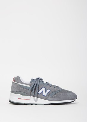 New Balance 997 Suede Mesh Sneakers $210 thestylecure.com