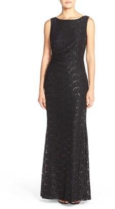 Women's Ellen Tracy Cowl Back Sequin Mermaid Gown $198 thestylecure.com