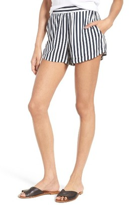 Women's Splendid Boardwalk Stripe Shorts $98 thestylecure.com