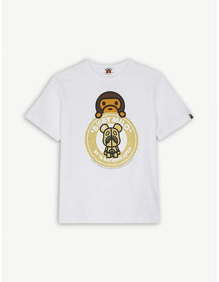 A Bathing Ape Be@rbrick cotton T-shirt 4-8 years