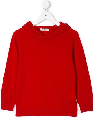 Paolo Pecora Kids knitted hoodie