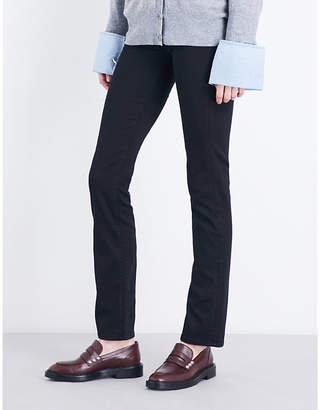 7 For All Mankind Kimmie straight-leg mid-rise jeans