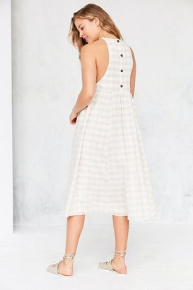 Kimchi Blue Eliza Drop Armhole Midi Dress $79 thestylecure.com
