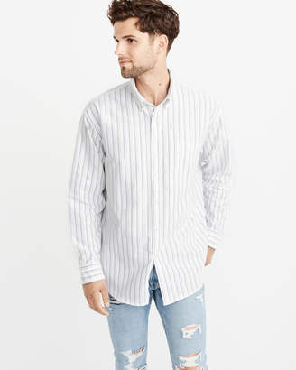 Abercrombie & Fitch Oversized Oxford Shirt