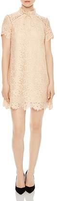 Sandro Antilope Lace Mini Dress