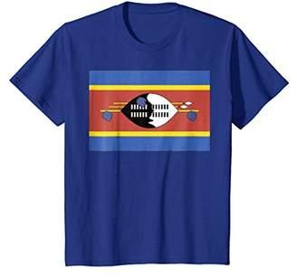 Flag of Swaziland T-shirt Tee Tees T Shirt Tshirt