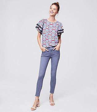 LOFT Modern Softest Skinny Jeans in Vivid Grey Wash