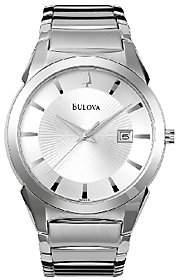 Bulova Men's Stainless Steel Bracelet Watch