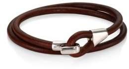 Miansai Mason Leather Wrap Bracelet