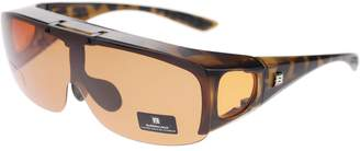 030d5cc7ee0 Unknown Barricade Large Mens Polarized Flip Up Fitover Sunglasses