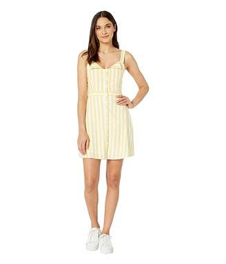 WAYF Bolton Fit-and-Flare Mini Dress