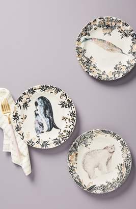 Anthropologie Arctic Dessert Plate