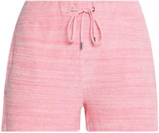 Orlebar Brown Melange Cotton-terry Shorts