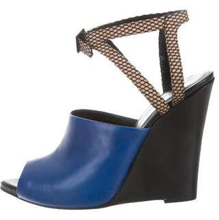 3.1 Phillip Lim Pointed Wedge Sandals