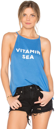 The Laundry Room Vitamin Sea High Neck Tank $58 thestylecure.com