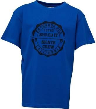 Kangaroo Poo Boys Printed T-Shirt Royal