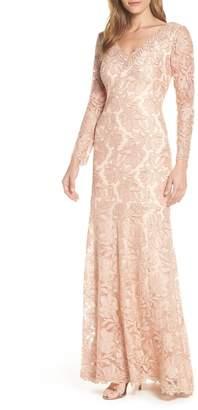 Tadashi Shoji Lace Evening Dress