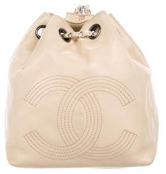 Chanel Lambskin Drawstring Backpack