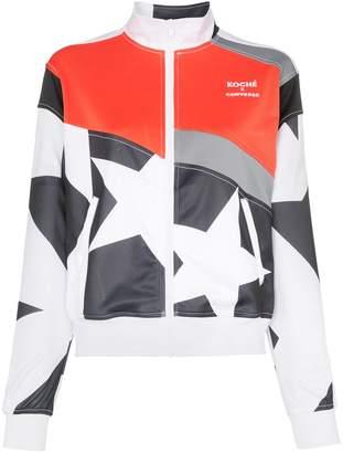 Converse x Koché star print track jacket