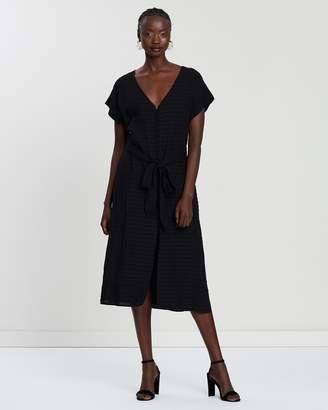 Day Break Tie Front Dress