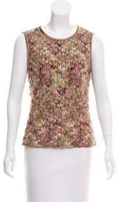 Missoni Patterned Wool Top