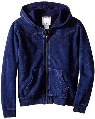 True Religion Kids French Terry Western Hoodie (Toddler/Little Kids) $79 thestylecure.com