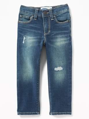 7041d44d855 Old Navy Karate Built-In Flex Max Distressed Skinny Jeans for Toddler Boys