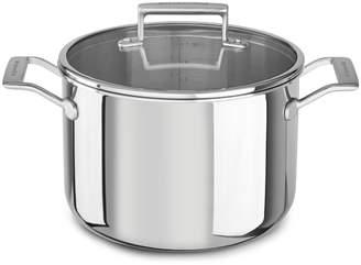 KitchenAid Tri-Ply Stainless Steel Stockpot, 8 qt.