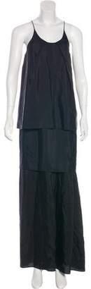 Acne Studios Silk Maxi Dress
