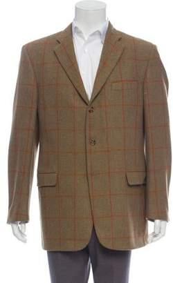 Burberry Window Check Wool Blazer
