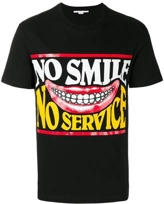 Stella McCartney No Service print T-shirt