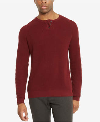 Kenneth Cole Reaction Men's Henley Sweater