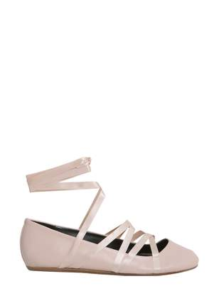 Lanvin Lace-up Ballet Flat