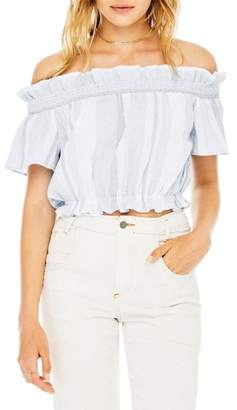 ASTR the Label Carson Off-the-Shoulder Top