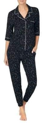 DKNY Two-Piece Star-Print Pyjama Set