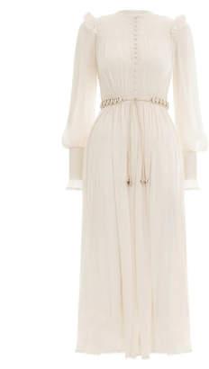 Zimmermann Veneto Shirred Long Dress
