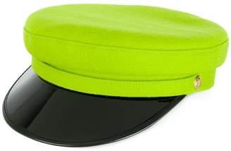 Manokhi vinyl visor officer's cap