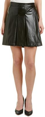 Derek Lam 10 Crosby Box Pleat Mini Skirt