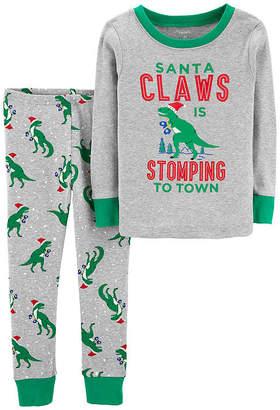 Carter's 2-pc. Holiday Pant Pajama Set - Toddler