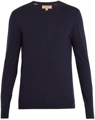 Burberry Crew-neck cashmere sweater