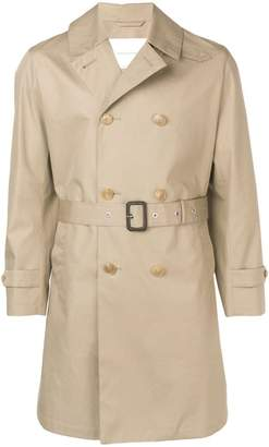 MACKINTOSH Fawn Storm System Cotton Short Trench Coat GM-039BS