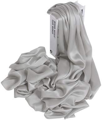Mulberry Ya Jin Womens Solid Color 100% Silk Head Scarf Evening Wrap Wedding Shawl