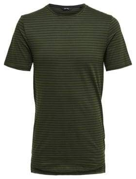 ONLY & SONS Long Striped Cotton Tee