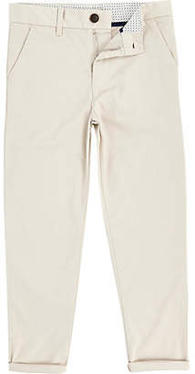 River Island Boys stone Dylan slim fit chino trousers