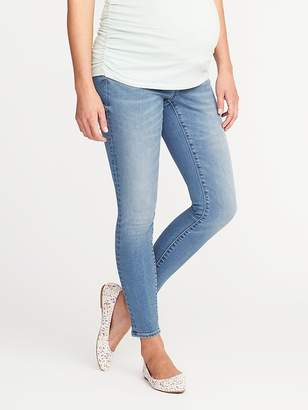 Old Navy Maternity Side-Panel Rockstar Skinny Jeans