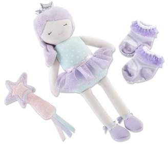 Baby Aspen Phoebe the Fairy Princess Plush Plus Rattle and Socks for Baby